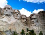 Mount Rushmore in South Dakota.