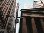 A street sign on Wall Street in New York City.