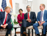 President Donald J. Trump participates in bilateral meeting with the Prime Minister of the Republic of India Narendra Modi at the Centre de Congrés Bellevue Monday, Aug. 26, 2019, in Biarritz, France, site of the G7 Summit.
