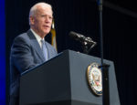 Vice President Joe Biden speaking at a Office of Policy Development & Research event in 2015.