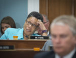 Rep. Marcia L. Fudge (D-Ohio) asks U.S. Department of Agriculture (USDA) Secretary Sonny Perdue about possible closures within Natural Resources Conservation Service (NRCS) during a hearing with the House Committee on Agriculture in Washington, D.C., May 17, 2017, to share his perspective on the economic outlook in rural America along with his vision for USDA and the role it will play in ensuring that our country continues to enjoy the safest, most abundant, and most affordable food supply in the world.