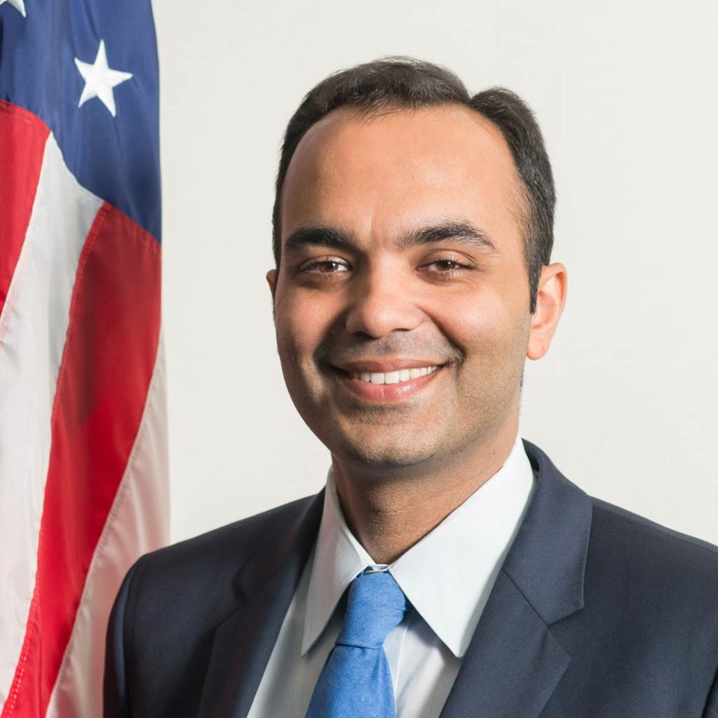 Official portrait of FTC Commissioner Rohit Chopra