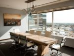 A boardroom at an office in Los Angeles.