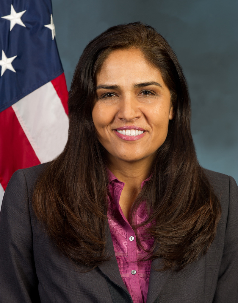 The official HUD portrait of Lopa P. Kolluri, Principal Deputy Assistant Secretary for the Office of Housing and FHA